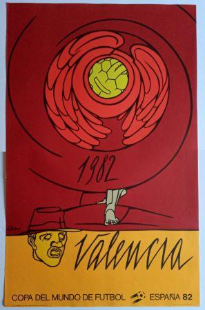 Афиша Adami - Copa del Mundo 1982 - Valencia