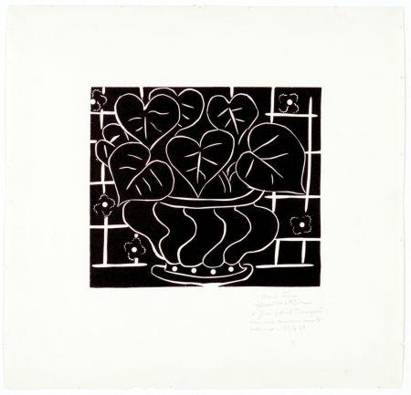 Линогравюра Matisse - Corbeille de bégonias I