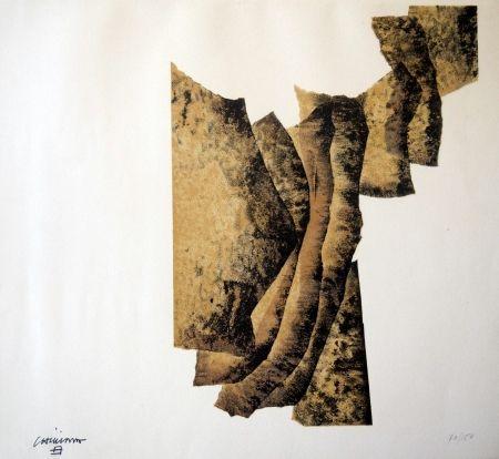 Литография Chillida - CORRELACION