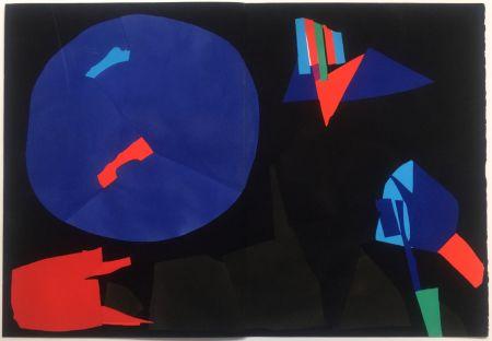 Трафарет Lanskoy - CORTÈGE. Pochoir original (1959)