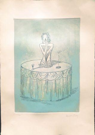 Офорт И Аквитанта Ray - Costume de Bal CLETO POLCINA 35X50 1975