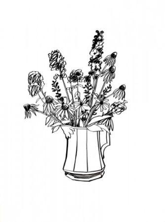 Многоэкземплярное Произведение Wesselmann - Country Bouquet for Tammy