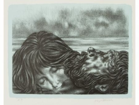 Литография Hirsch - Couples (includes