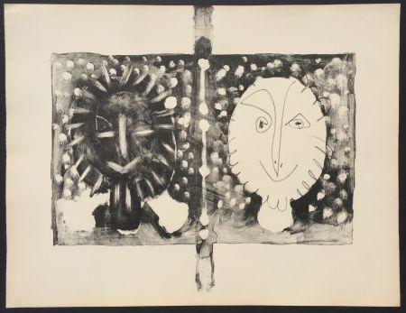 Литография Picasso - Couverture Mourlot I (B. 591)