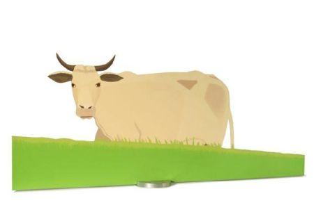 Сериграфия Katz - Cow
