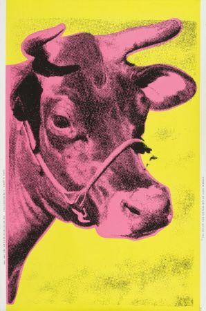 Сериграфия Warhol - Cow (Pink)