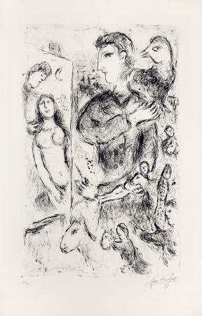 Литография Chagall - Création