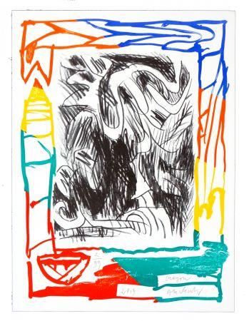 Литография Alechinsky - Crayon