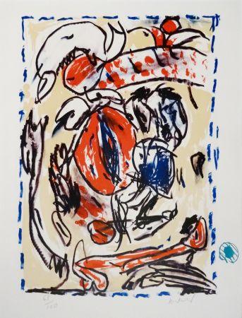 Литография Alechinsky - Crayon sur coquille - Cerclitude
