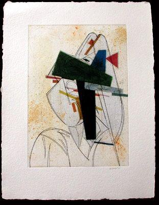Офорт Valdés - Cubismo como pretexto 11