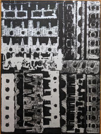 Литография Arman - Culasses sciées