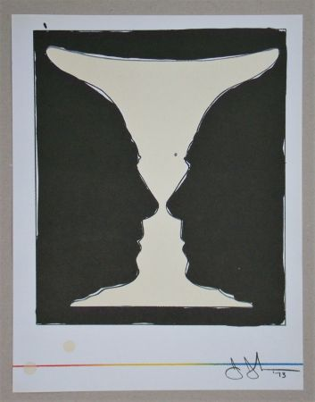 Литография Johns - Cup two Picasso