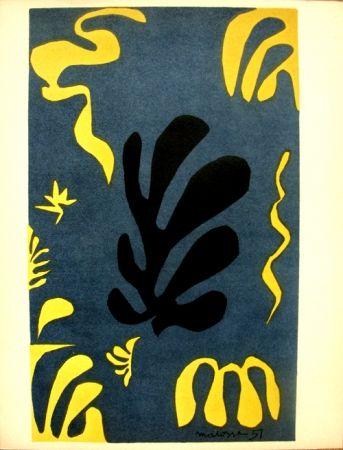 Литография Matisse - Découpages Pour Le Xx E  Siecle