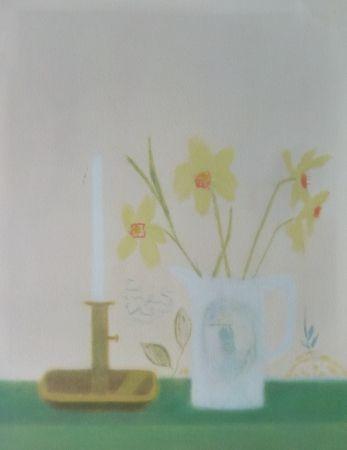 Сериграфия Aitchison - Daffodils & Candlestick