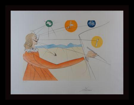 Гравюра Dali - Dalinean Prophecy