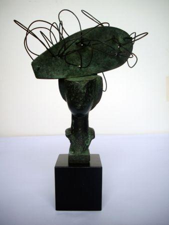 Монотип Valdés - Dame en bronze