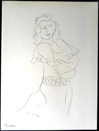 Литография Matisse - Danseur