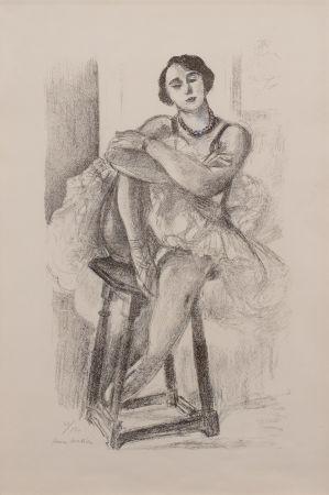Литография Matisse - Danseuse au Tabouret, from Dix Danseuses