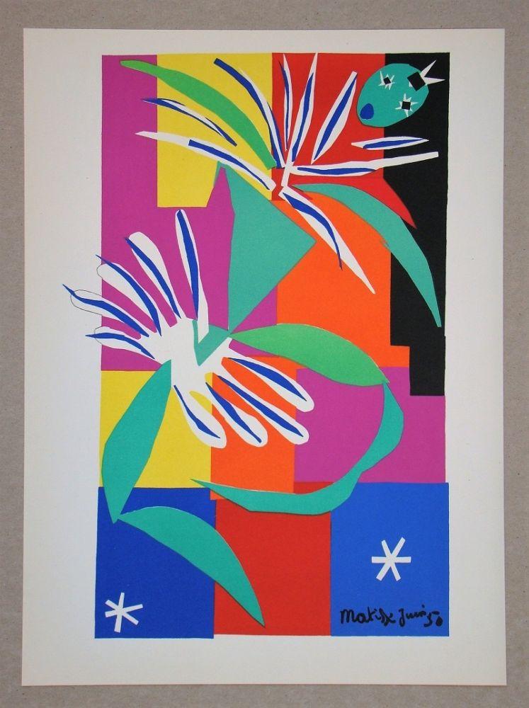 Литография Matisse (After) - Danseuse Créole - 1950
