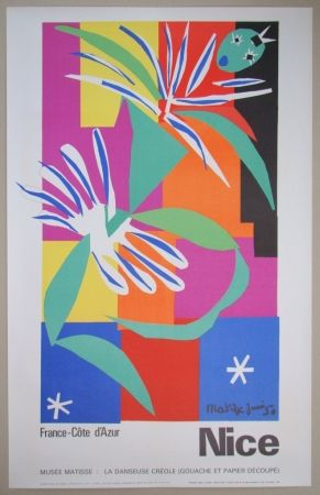 Литография Matisse - Danseuse créole, 1950