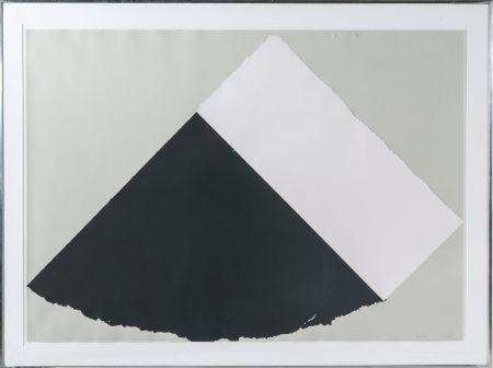 Сериграфия Kelly - Dark Gray and White