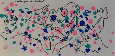 Литография Baj - D'aure gens