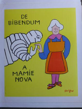 Афиша Savignac - De bibendum à mamy nova