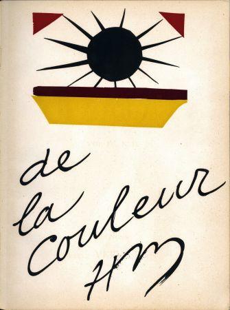 Литография Matisse - De la Colour