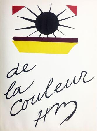 Литография Matisse - DE LA COULEUR  (Pour la revue Verve n°13, 1945)