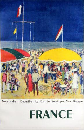 Гашение Van Dongen - Deauville  Le Bar Au Soleil  Normandie