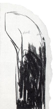Сериграфия Pistoletto - Debole