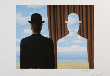 Литография Magritte - Decalcomanie