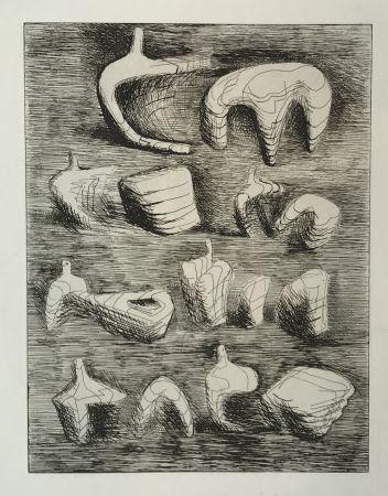 Гравюра Moore - Deconstructed Figures