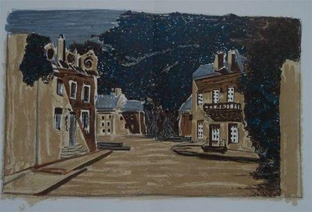 Литография Braque - Decor pour Les Facheux