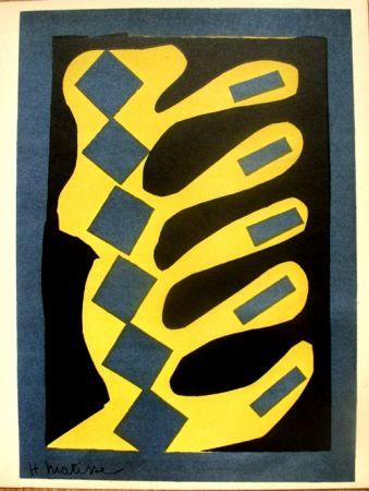 Литография Matisse - Decoupages Pour Le Xxe  Siecle