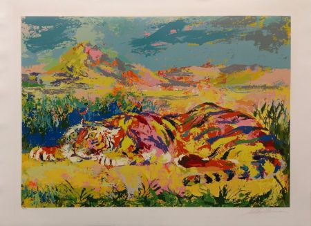 Сериграфия Neiman - DELACROIX'S TIGER