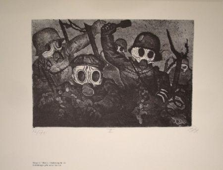 Иллюстрированная Книга Dix - Der Krieg