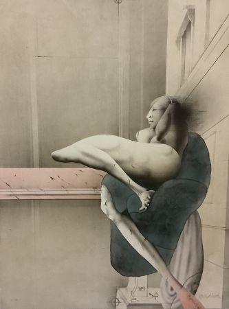Литография Wunderlich - Der Morgen (nach Michelangelo)