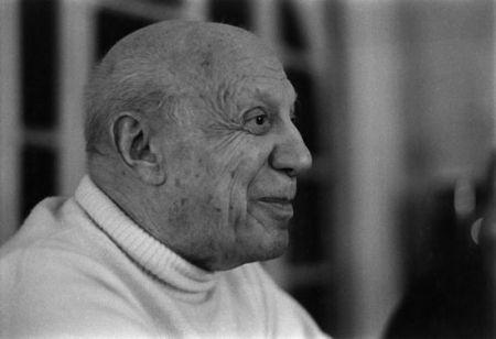Фотографии Clergue - Dernier Portrait De P. Picasso