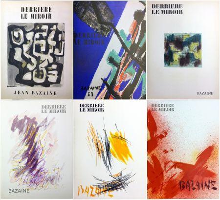 Иллюстрированная Книга Bazaine - DERRIÈRE LE MIROIR. BAZAINE. Collection complète des 6 volumes de la revue DERRIÈRE LE MIROIR consacrés à Jean Bazaine (parus de 1949 à 1975).