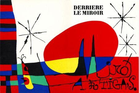 Литография Miró - Derrière Le Miroir N°87-88-89. Miro Artigas. Juin-Juillet-Août 1956.