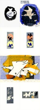 Иллюстрированная Книга Braque - DERRIÈRE LE MIROIR N° 115. BRAQUE. Juin-Juillet 1959.