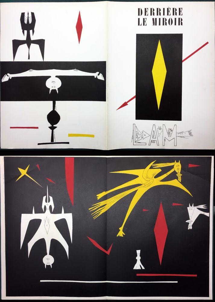 Иллюстрированная Книга Lam - DERRIÈRE LE MIROIR N° 52. Wifredo LAM. Janvier 1953.