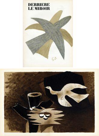 Иллюстрированная Книга Braque - DERRIÈRE LE MIROIR N° 85-86. BRAQUE. Avril-mai 1956.