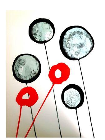 Литография Calder - Derrière le Miroir