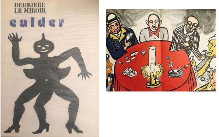 Литография Calder - Derrière le miroir N°212. Alexander CALDER.
