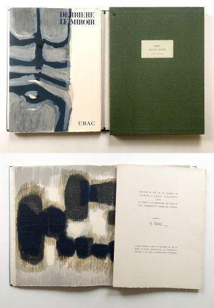 Иллюстрированная Книга Ubac - Derrière le Miroir n° 130. UBAC, PIERRES TAILLÉES (Nov. 1961). TIRAGE DE LUXE SIGNÉ.