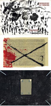 Иллюстрированная Книга Tapies - Derrière le Miroir n° 175 . TÀPIES: