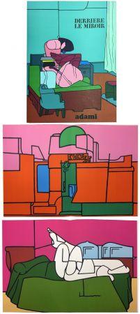 Иллюстрированная Книга Adami - Derrière le Miroir n° 188. ADAMI. Novembre 1970.