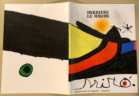 Иллюстрированная Книга Miró - Derrière Le Miroir  N° 193- 194 Novembre 1971- Maeght Editeur
